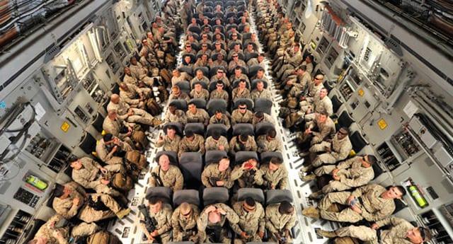 ABD askeri Afganistan'a böyle gidiyor