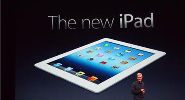 iPad 3 değil, Yeni iPad tanıtıldı