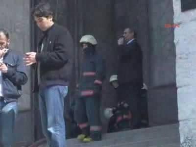 İstanbul Üniversitesi'nde yangın