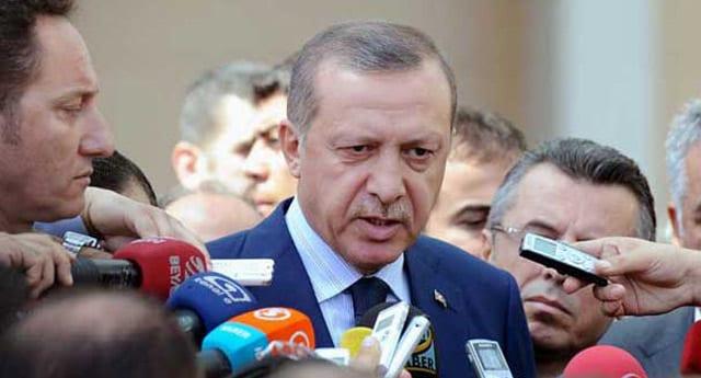 """Başbakan Erdoğan, """"Kızım iyi tercüme et"""""""