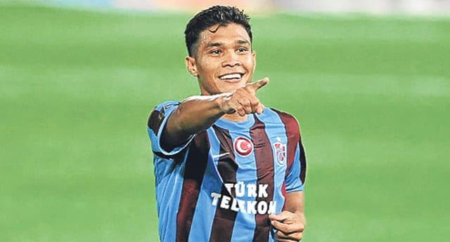 Eski Trabzonsporlu futbolcu paylaşılamıyor