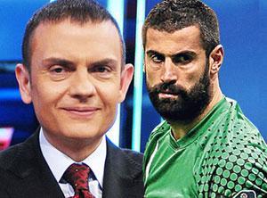 Ercan Taner'in maç anlatımındaki gafı!