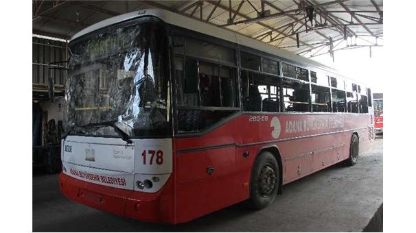 PKK'lı bir grup otobüse saldırdı!