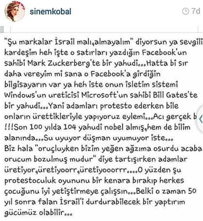sinem-kobal-twitter-resim-yahudi