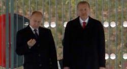 Rusya Devlet Başkanı Putin, karşılama töreni için ezber yaptı!