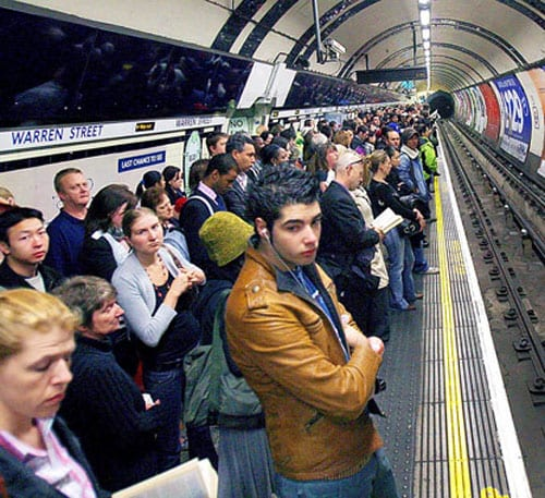 Metroda dehşet!