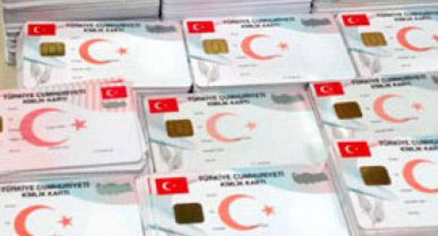 Çipli kimlik kartları yıl sonuna yetişecek