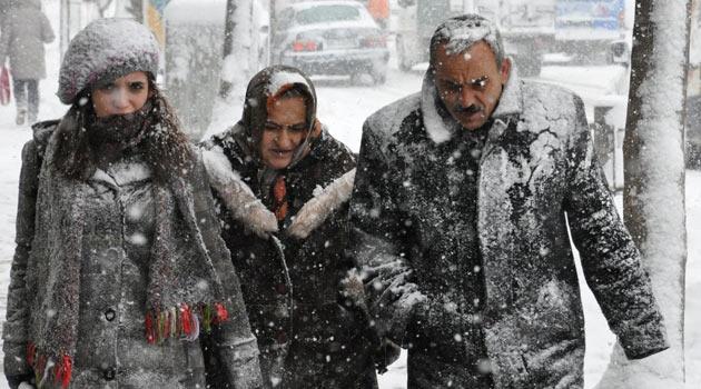Cuma günü şiddetli kar yağışı bekleniyor
