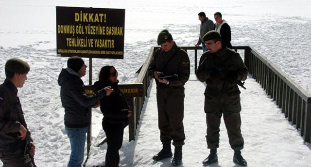 Jandarma'dan tatil eğlencesini bölen ceza