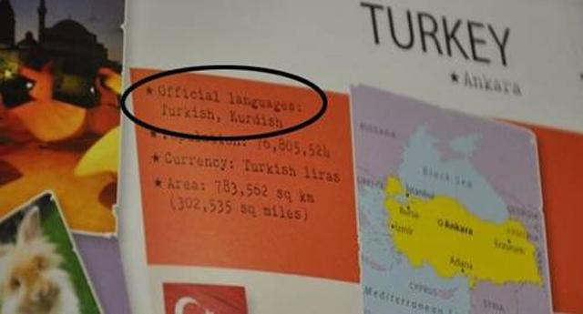 """Lonely Planet, """"Türkiye'nin resmi dili…"""""""