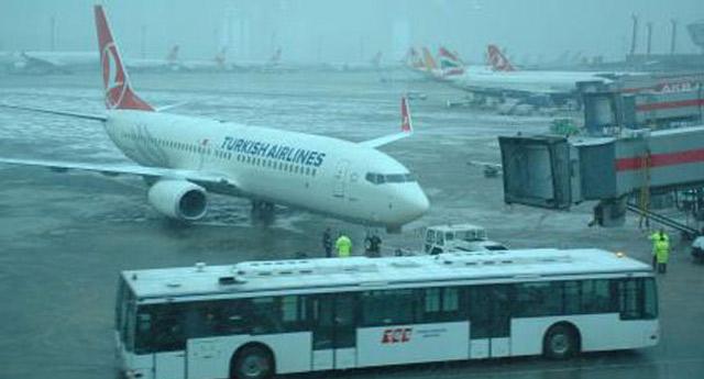 Türk Hava Yolları 40 seferini iptal etti