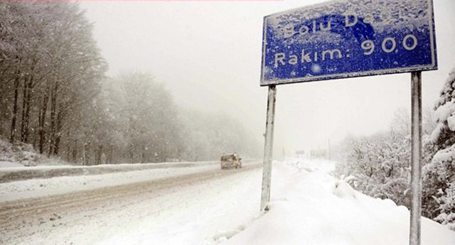 Meteroloji'den Türkiye geneli için kar uyarısı