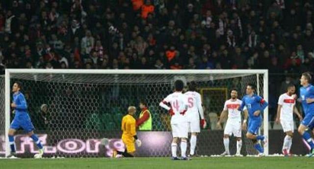 Türkiye: 1 – Slovakya: 2 maç sonucu