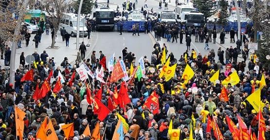 Ankara savaş alanını aratmadı