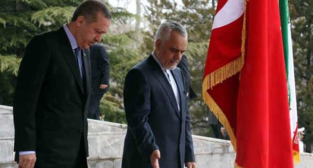 Başbakan İran'a indiğinde İran TV'sindeki ilginç yayın!
