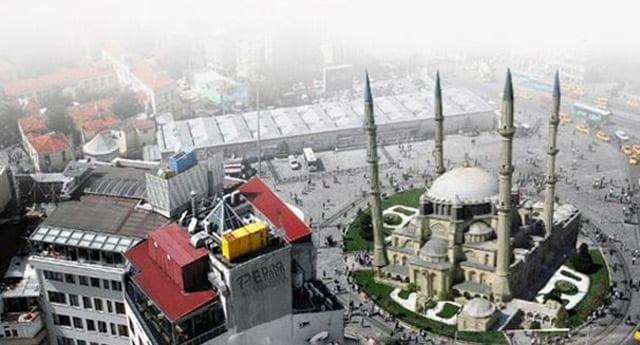 Taksim meydanına cami olacak mı?