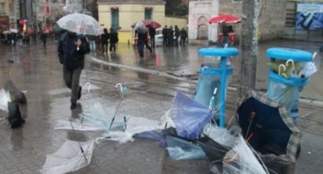 Türkiye'de fırtınanın sebebleri
