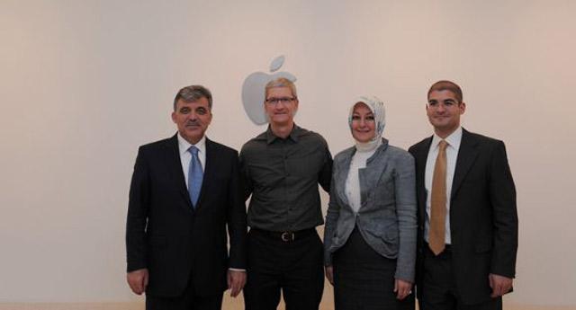 Cumhurbaşkanı Gül Silikon Vadisi'ndeydi