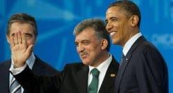 NATO zirvesinde Cumhurbaşkanı Gül ve Obama bir araya geldi