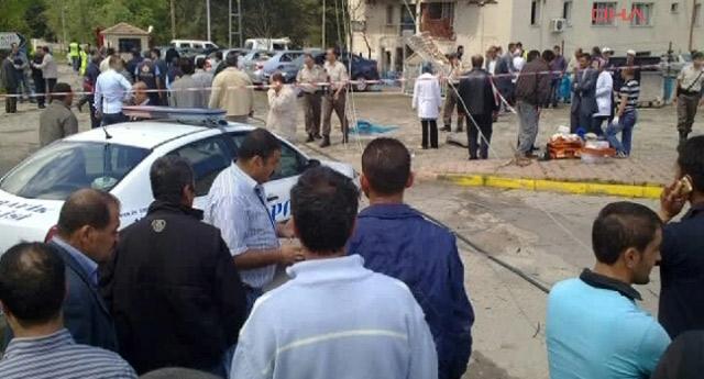 Emniyet müdürlüğüne intihar saldırısı