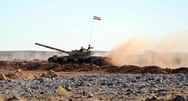 Suriye'nin tankları Türkiye yönünü hedef aldı