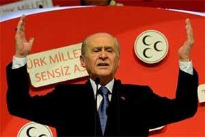 MHP Lideri, 'Erdoğan terörle işbirliği yapıyor'
