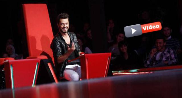 Murat Boz yarışmacıyı görünce