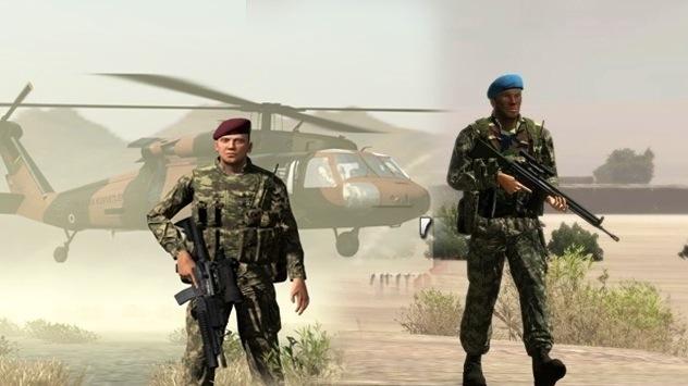 Türk Askeri artık oyun dünyasında