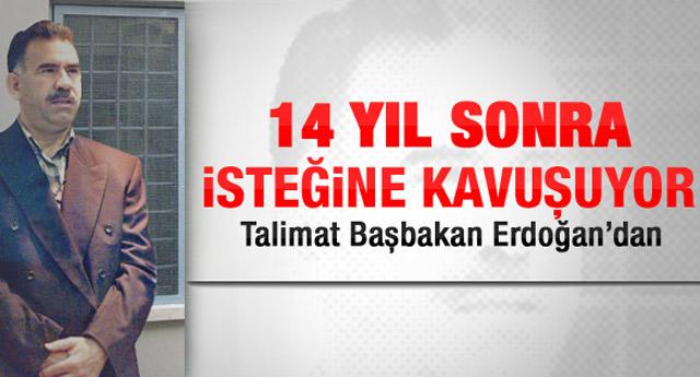 Abdullah Öcalan'ın artık televizyonu var