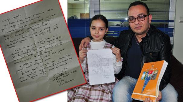 Zeynep'in mektubu işe yaradı!