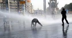 Gezi Parkı'nda sabah operasyonu