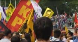 Taksim'de pankart ve poster krizi!
