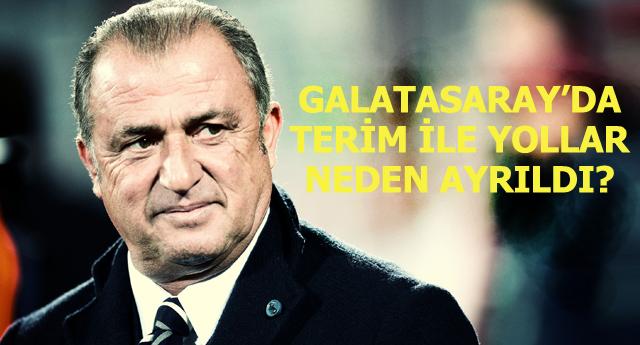 Galatasaray'da Terim dönemi sona erdi!
