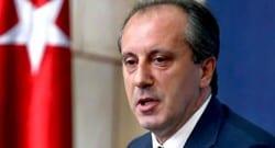 Muharrem İnce istifa edip Genel Başkan adaylığını açıkladı!
