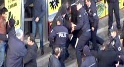 İtfaiye ile polis birbirine girdi!