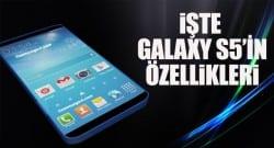 Samsung Galaxy S5'in teknik özellikleri nasıl olacak?