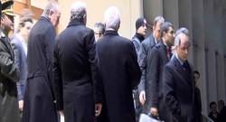 Başbakan, Bakanlarla havalimanında bir araya geldi
