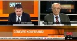 Cüneyt Özdemir'in sorduğu soru sosyal medyada tepki çekti!