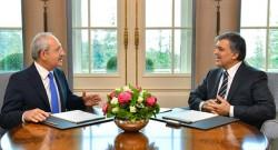 Kılıçdaroğlu ile Cumhurbaşkanı görüştü!