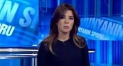 NTVSpor spikeri ağlayarak haber sundu!