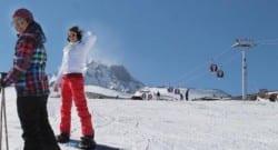 Erciyes kış turizminin gözdesi oldu!