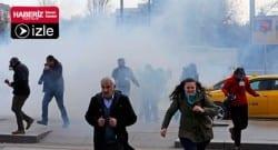 Ankara karıştı! Polis müdahale ediyor!