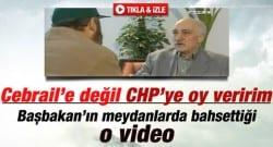 Gülen, 'Parti kursa Cebrail'i desteklemem'