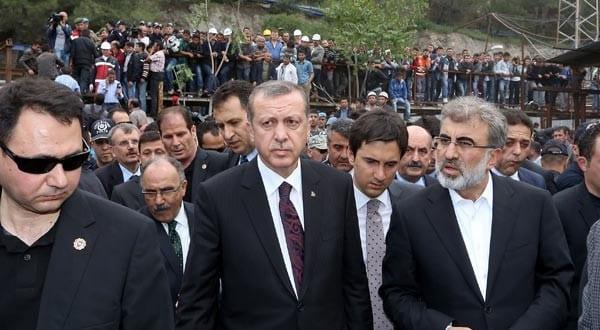 Başbakan maden ocağından basına açıklama yaptı!