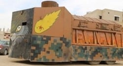 Bu da Kürdish tank