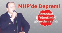MHP İstanbul İl Yönetimini görevden aldı!