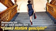 'Şık giyiniyorum çünkü Atatürk genciyim'