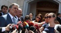 Cuma namazı çıkışı Cumhurbaşkanı Gül'den Gazze açıklaması!