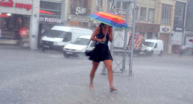 Meteoroloji uyardı! Ülke geneli yarından itibaren yağışlı