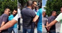 Öğretmene sokakta sivil polis şiddeti!